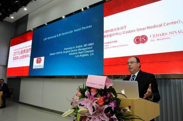 西达-赛奈医疗中心机械循环支持计划项目外科主任Francisco A. Arabia教授