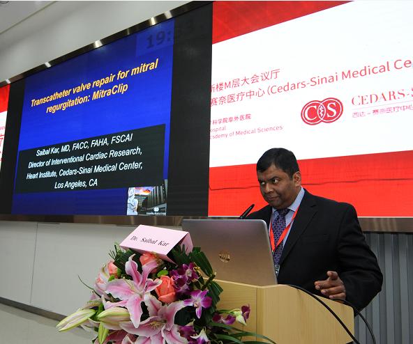 美国西达-赛奈医疗中心心血管介入中心副主任 Saibal Kar教授