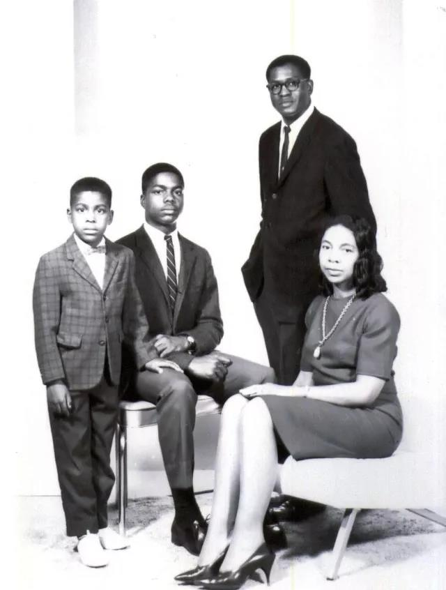 dr keith black and family